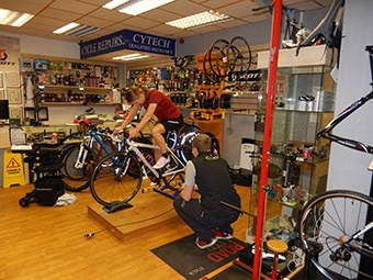 Our bike fitting service