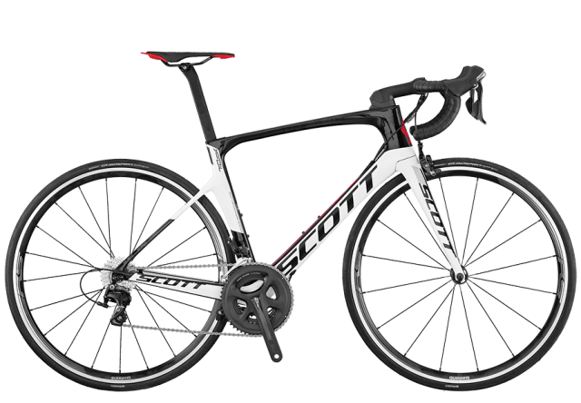 Scott Foil 30 Black/Red Carbon Road Bike