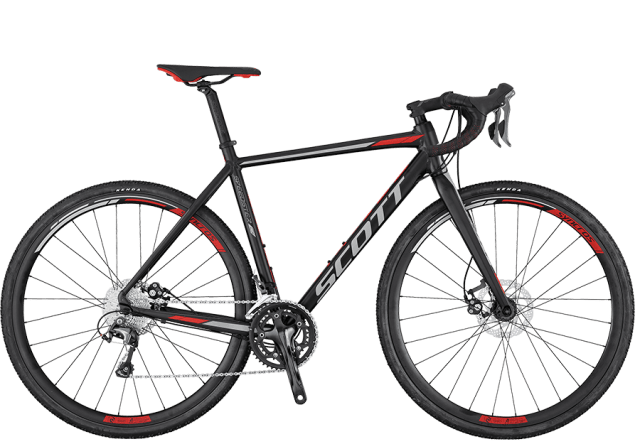 Scott Speedster CX 20 Disc Black/Red Cyclocross Bike