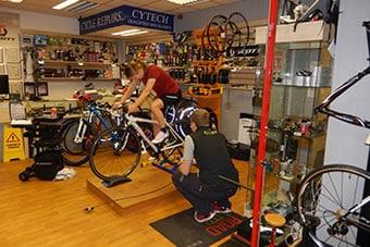 BAthgate Bike Shop Bike Fitting Service
