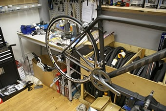 BAthgate Bike Shop Workshop